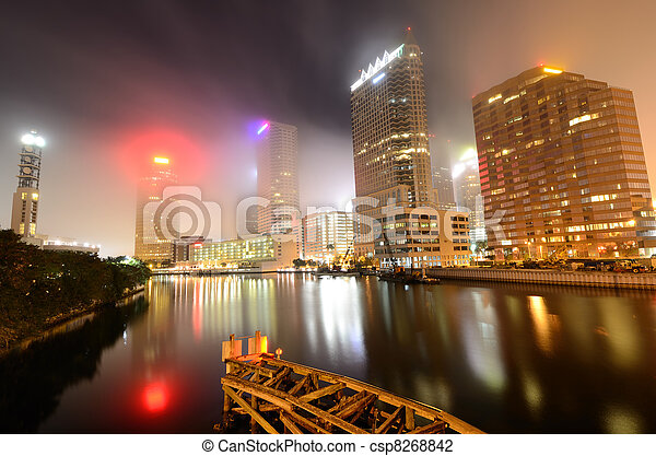 Tampa - csp8268842
