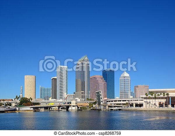 Tampa - csp8268759
