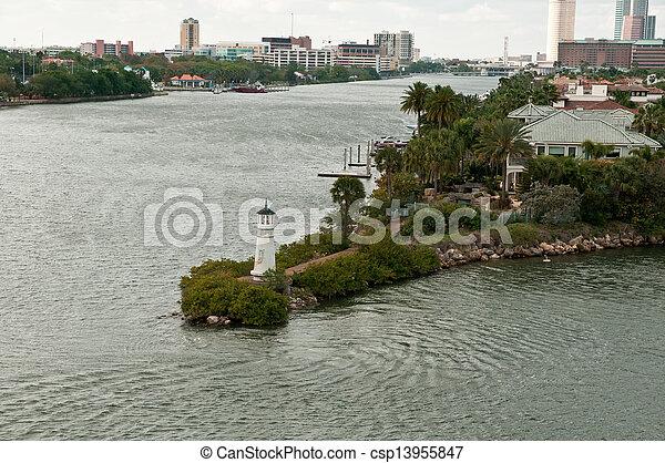 Tampa lighthouse - csp13955847