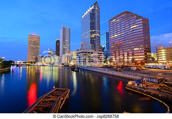 Tampa - csp8268758