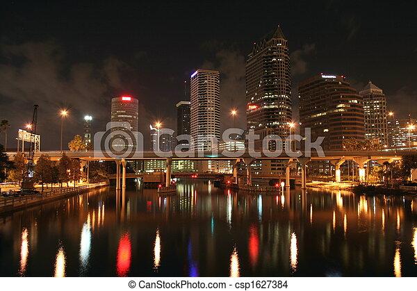 Tampa Skyline - csp1627384