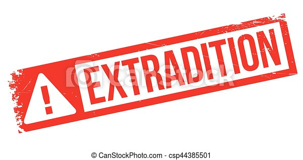 tampon, extradition - csp44385501