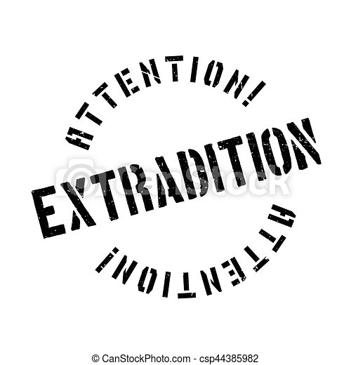 tampon, extradition - csp44385982