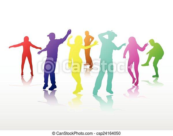 tančení, národ - csp24164050