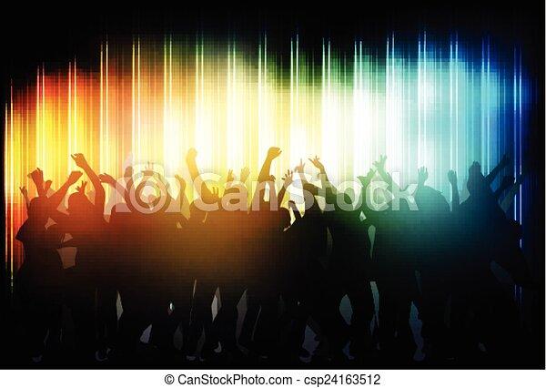 tančení, národ - csp24163512