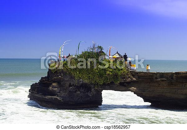 Tanah Lot Coast. - csp18562957