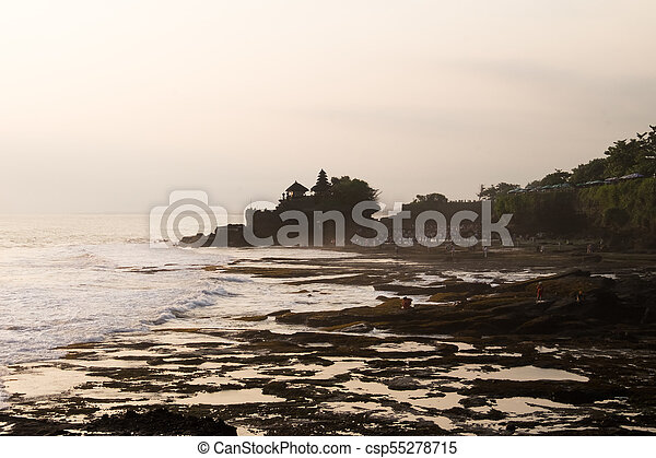 Tanah Lot Temple - Bali Indonesia - csp55278715