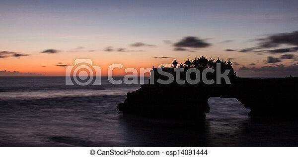 Tanah Lot Temple Bali Indonesia - csp14091444
