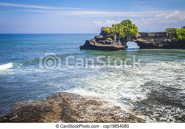 Tanah Lot Temple. Bali Island. Indon - csp19854080