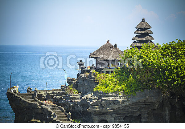 Tanah Lot Temple. Bali Island. Indon - csp19854155