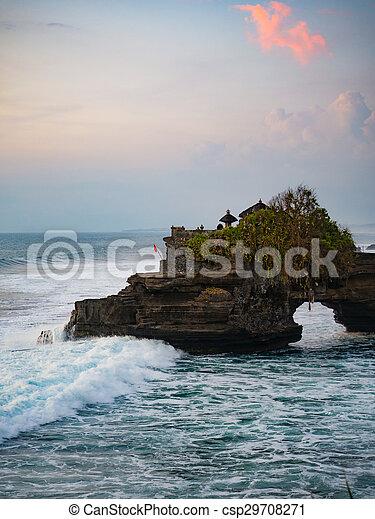 Tanah Lot Temple, Bali - csp29708271
