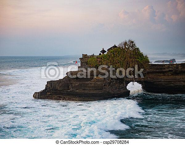 Tanah Lot Temple, Bali - csp29708284