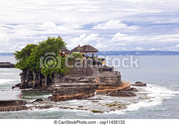 Tanah Lot Temple Bali - csp11435133