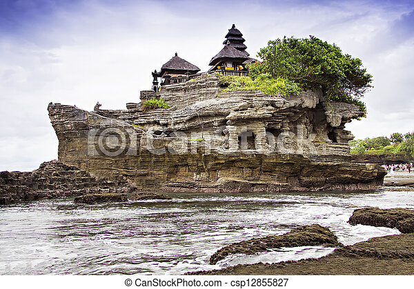 Tanah lot temple - csp12855827
