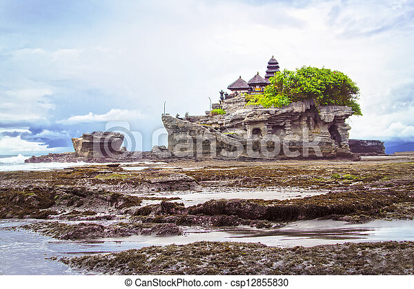 Tanah lot temple - csp12855830