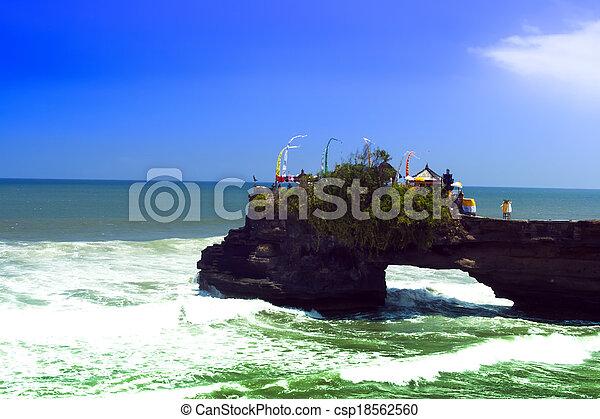 Tanah Lot Waves. - csp18562560