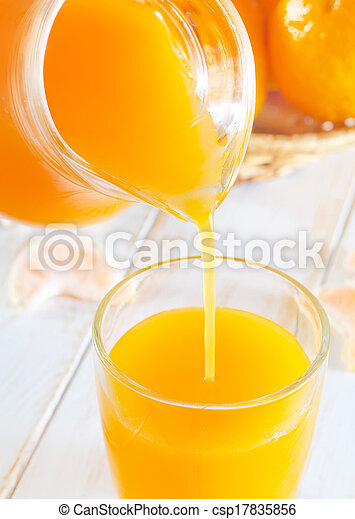 tangerine juice - csp17835856