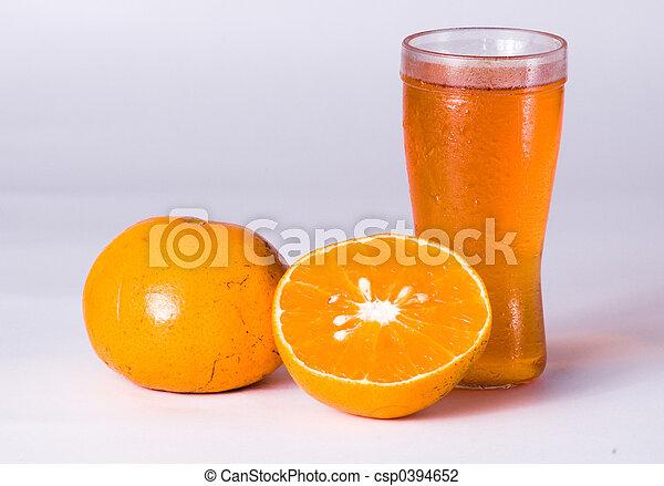 Tangerine juice - csp0394652
