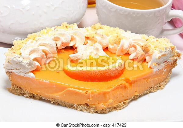 Tangerine Pie - csp1417423