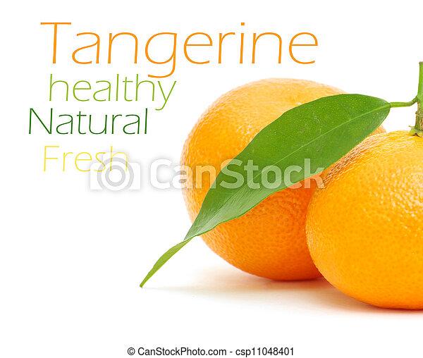 Tangerine - csp11048401