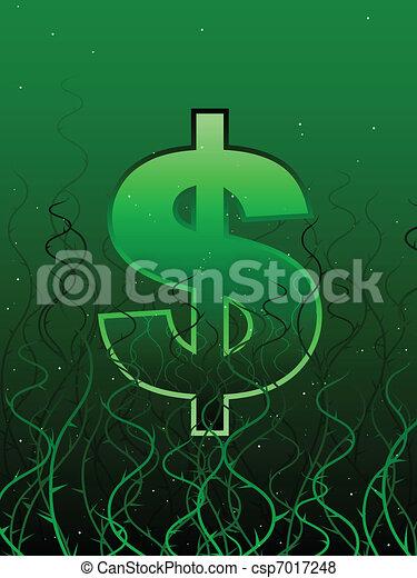 Tangled economy - csp7017248