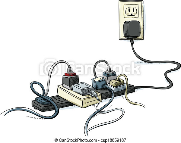 Extension cable Clipart Vector and Illustration. 693 Extension cable ...