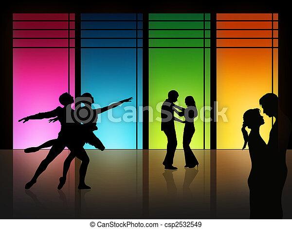 taniec, miłość - csp2532549
