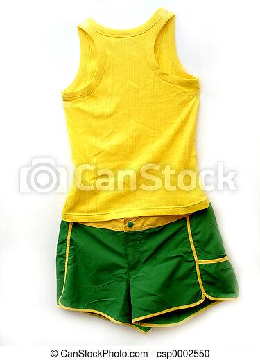 Tank and Shorts - csp0002550