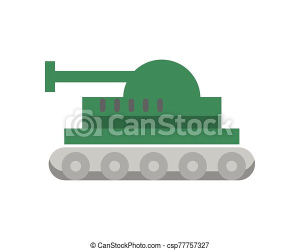 tank military force isolated icon - csp77757327