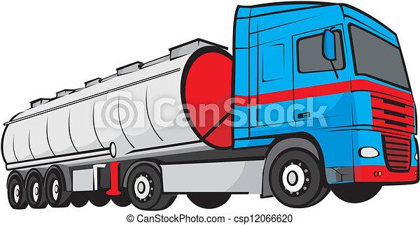 tank truck - csp12066620
