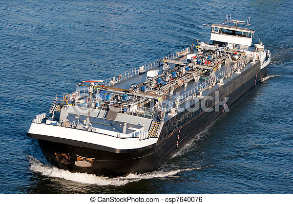 tanker barge - csp7640076