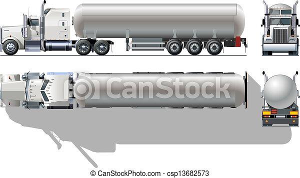 tankfartyg transportera - csp13682573