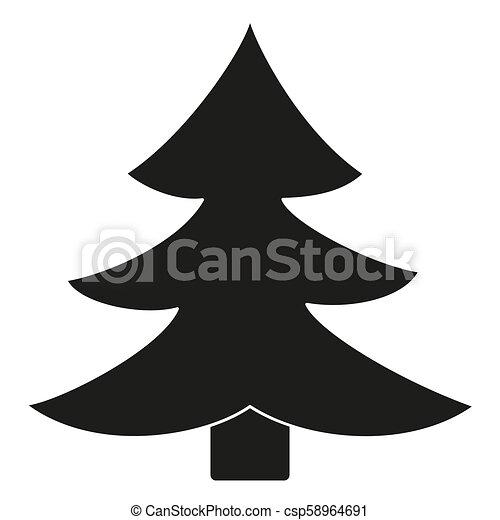 Clipart Tannenbaum Schwarz Weiß.Tanne Schwarz Weißes Baum Silhouette
