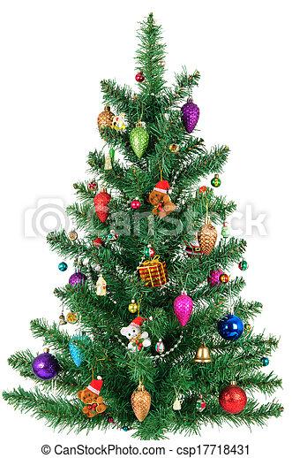 Tannenbaum Bilder.Tannenbaum Freigestellt Weihnachten Hintergrund Dekoriert Weißes