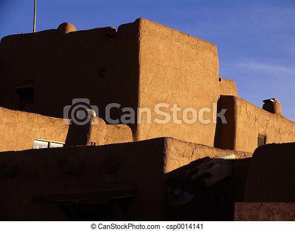 Taos Pueblo - csp0014141
