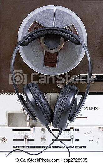 tape recorder - csp2728905