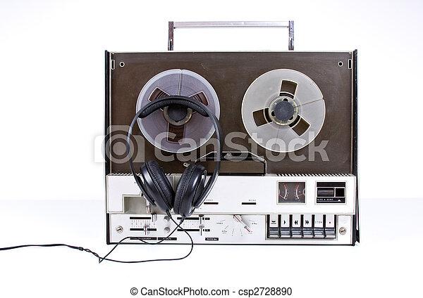 tape recorder - csp2728890