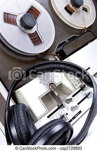 tape recorder - csp2728893