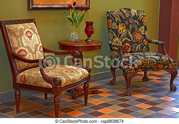 Tapestry Chairs   Csp9838674