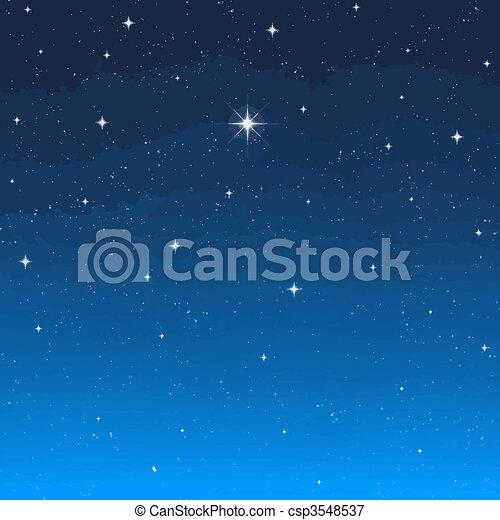 Estrella de la tarde - csp3548537