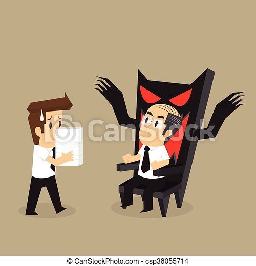Los hombres de negocios envían tareas que han sido asignadas - csp38055714