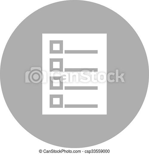 tareas, lista - csp33559000