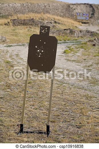 Target at the range - csp10916838
