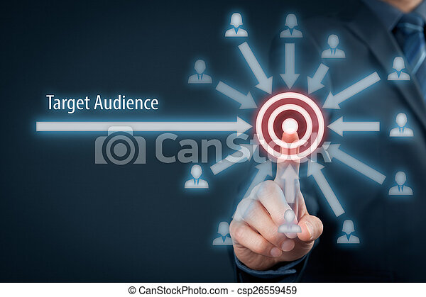 Target audience - csp26559459