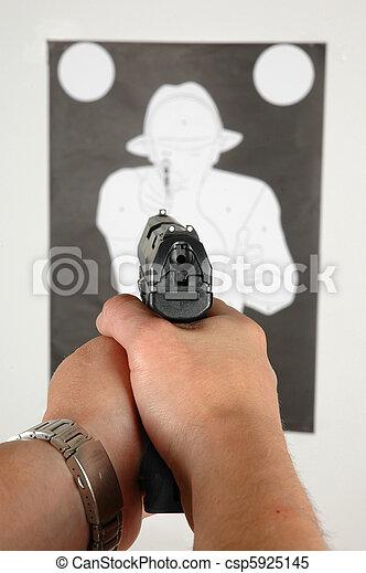 Target Shooting - csp5925145