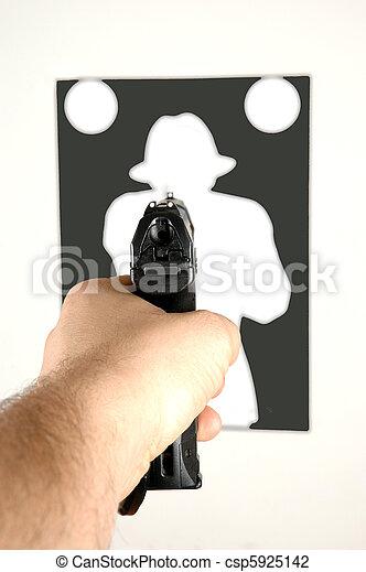 Target Shooting - csp5925142