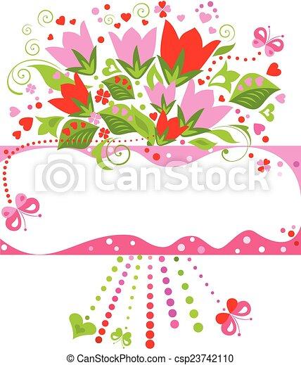 tarjeta de felicitación - csp23742110