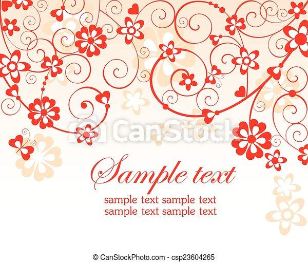 Tarjeta roja - csp23604265