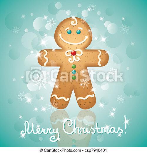 Tarjeta de Navidad - csp7940401