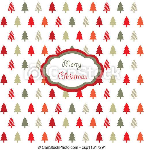 Tarjeta de Navidad - csp11617291